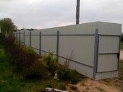 Установка и ремонт заборов,  навесов,  беседок,  оград и т.д. - foto 0