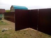 Установка и ремонт заборов,  навесов,  беседок,  оград и т.д. - foto 2
